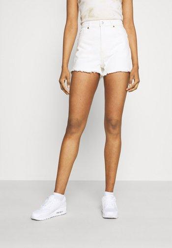 Denim shorts - off white