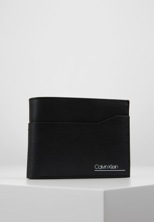 SLIVERED COIN - Wallet - black