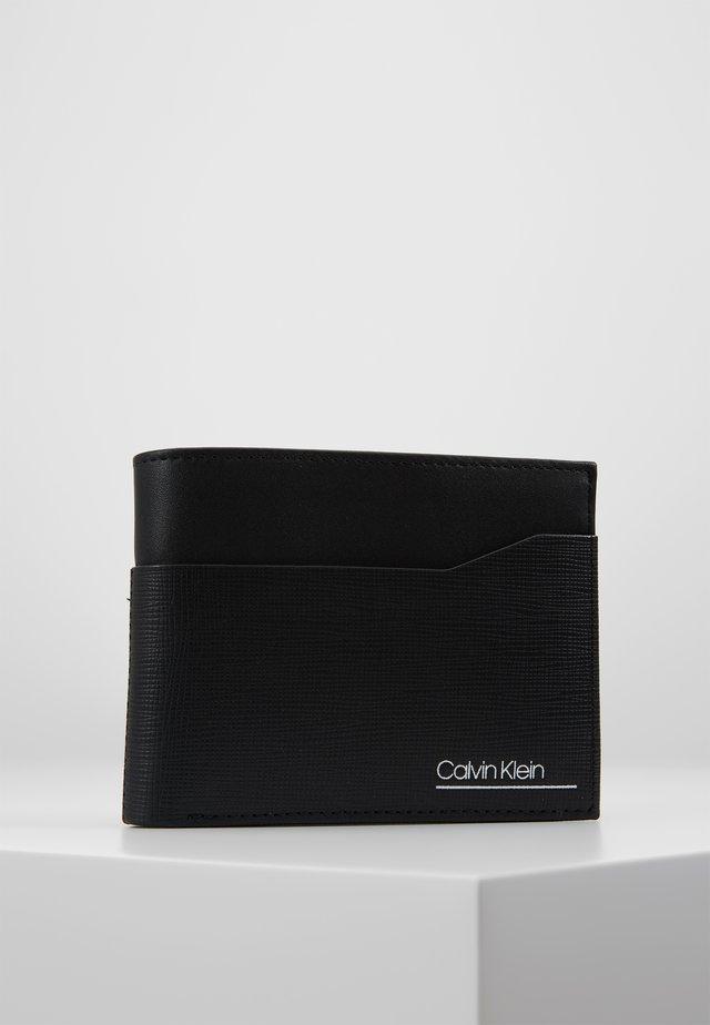 SLIVERED COIN - Portafoglio - black