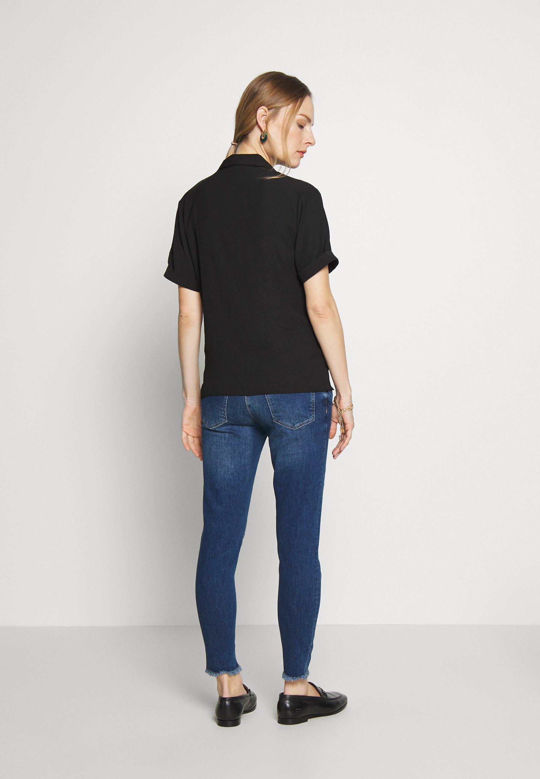 The Cheapest Women's Clothing LOVE2WAIT SOPHIA  DESTROYED Slim fit jeans stonewash NxHVnuOeW