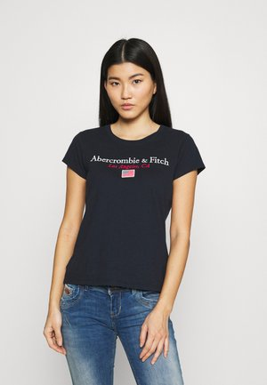 LOS ANGELES DESTINATION - Print T-shirt - navy