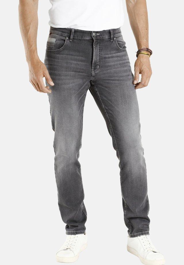 FREDRIK - Straight leg jeans - grau