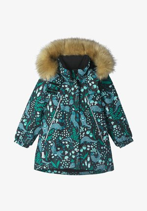 MUHVI - Winter coat - black pattern