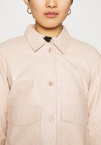ALIGNE - CAMPBELL  - Leather jacket - buttermilk - 3