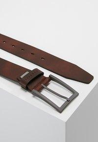 Bugatti - WIDE - Belt - rotbraun - 2