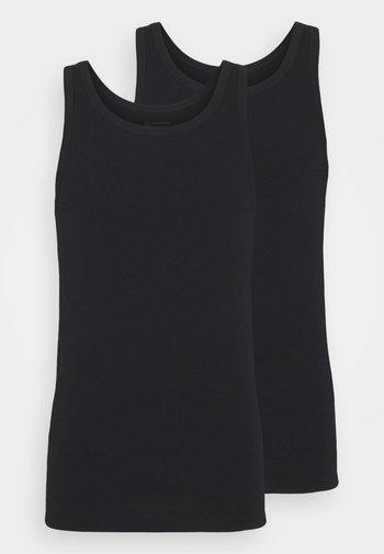 2PACK Unterhemd Organic Cotton - 95/5 Original - Undershirt - schwarz