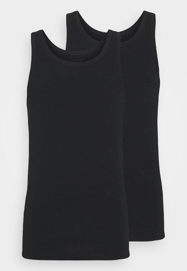 2PACK Unterhemd Organic Cotton - 95/5 Original - Hemd - schwarz