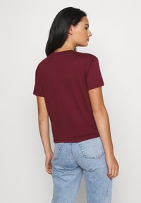 Hollister Co. - TIMELESS LOGO - Print T-shirt - burgundy - 2