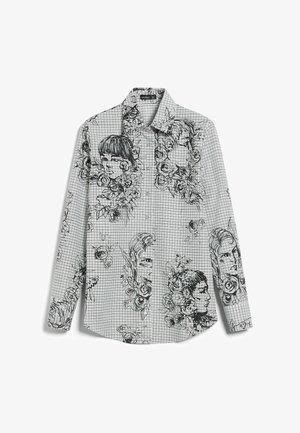 CARRYS - Button-down blouse - schwarz