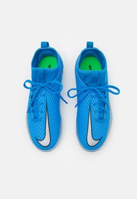 Nike Performance - JR PHANTOM GT ACADEMY DYNAMIC FIT MG UNISEX - Kopačky lisovky - photo blue/metallic silver/rage green - 3