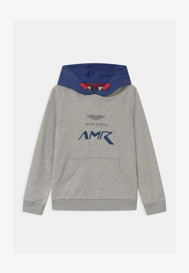 HOODY - Sweatshirt - mottled grey