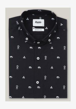 ROASTED MORNING - Shirt - black