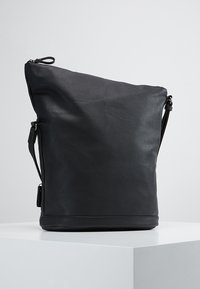 Tamaris - SMIRNE HOBO - Across body bag - black - 2