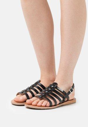 HAVAPO - Sandals - noir