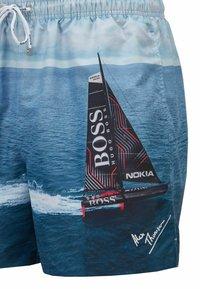 BOSS - SPRINGFISH - Swimming shorts - open blue - 4