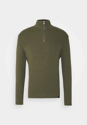 Pullover - olive