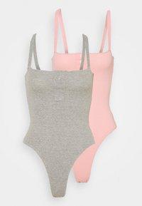 rose pink/grey