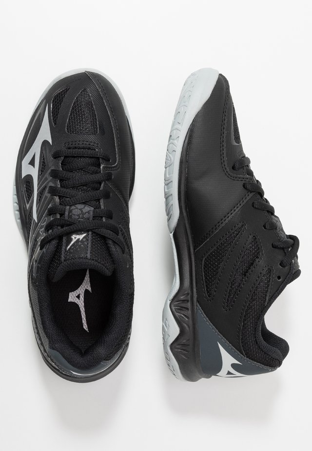 LIGHTNING STAR JR - Scarpe da pallavolo - black/silver/dark shadow