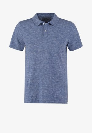 Polo shirt - blue melange