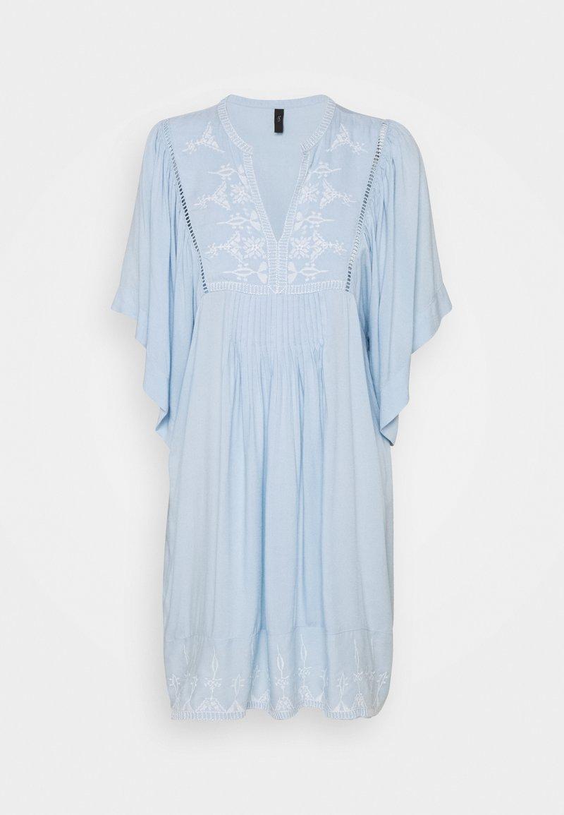 YAS - YASKIN SHORT DRESS  - Day dress - cashmere blue