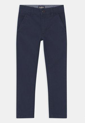 SKINNY FLAT FRONT - Chino - blue