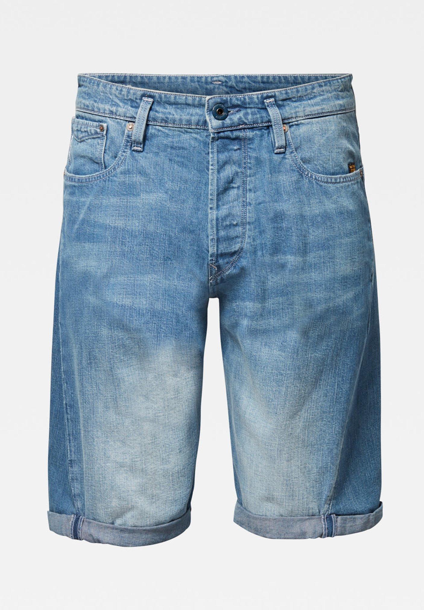 Uomo SCUTAR 3D - Shorts di jeans