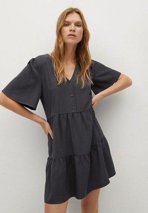 RITA-L - Korte jurk - anthrazit