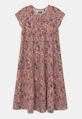 Shirt dress - rose poudré imprimé