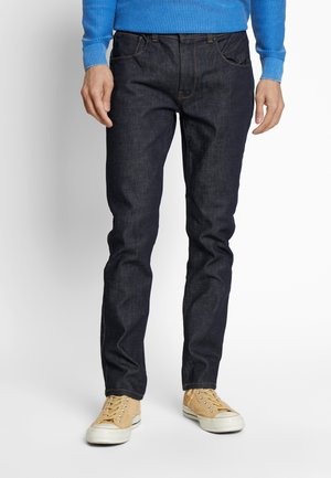 COATED RAW  - Jeans Tapered Fit - blue