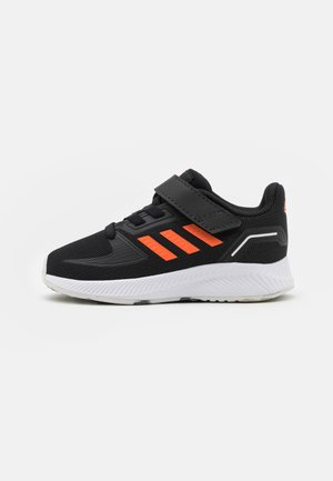 RUNFALCON 2.0 UNISEX - Obuwie do biegania treningowe - core black/true orange/footwear white