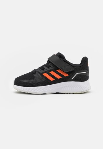 RUNFALCON 2.0 UNISEX - Neutral running shoes - core black/true orange/footwear white
