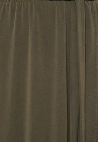 Object Tall - OBJANNIE SKIRT - Maxi skirt - forest night - 2