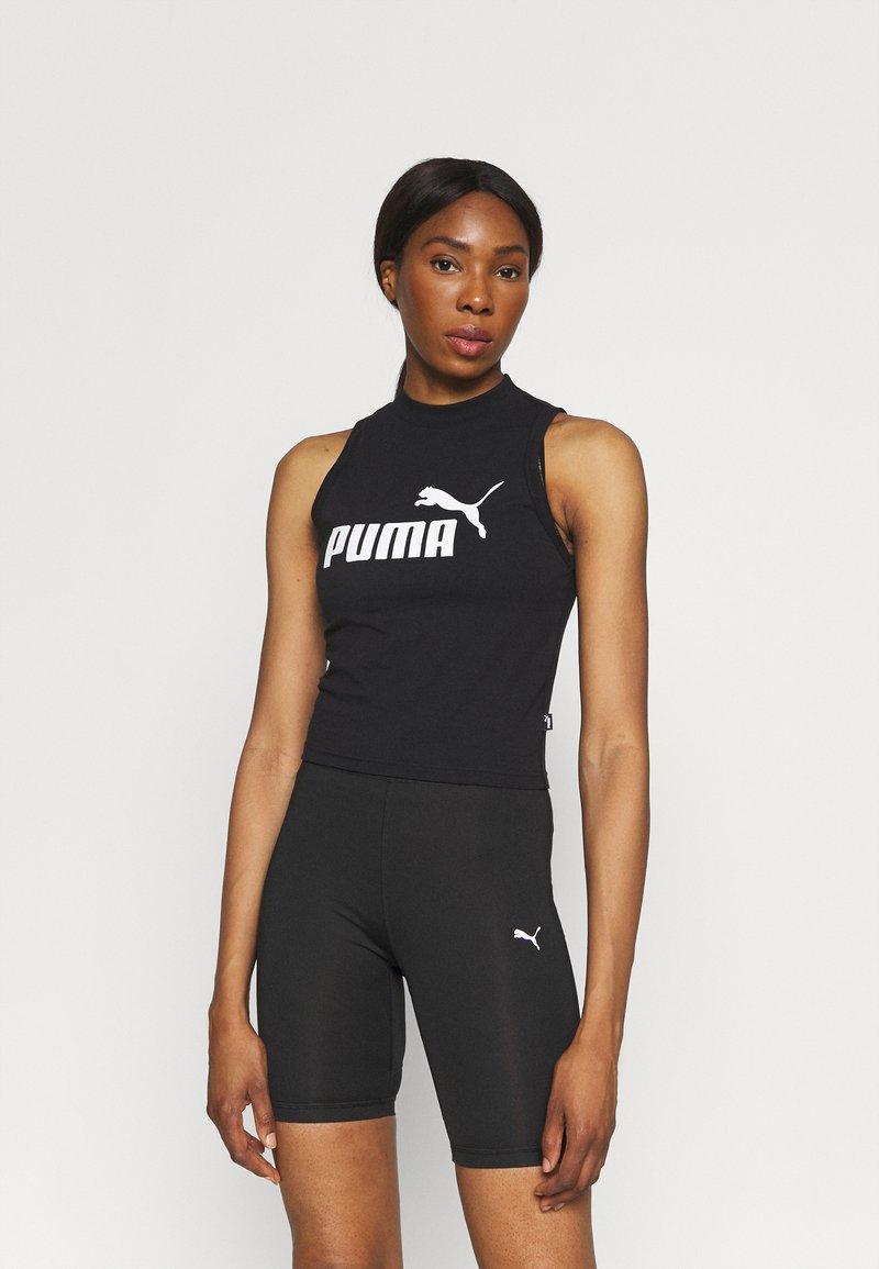 Puma - HIGH NECK TANK - Top - black