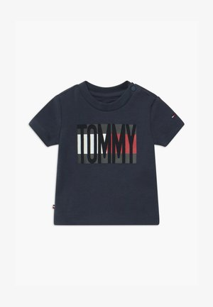 BABY FLAG TEE - Camiseta estampada - blue