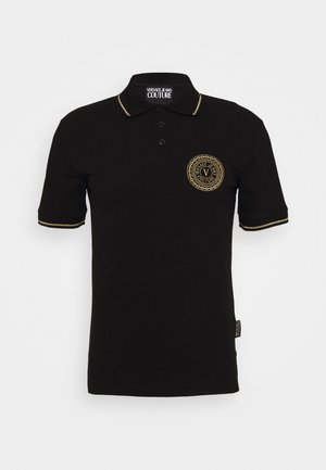 ADRIANO LOGO - Poloskjorter - nero