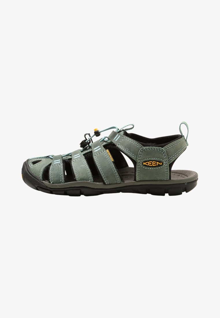 Keen - CLEARWATER CNX  - Walking sandals - mineral blue/yellow