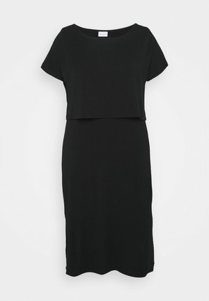 MLJILL DRESS  - Jersey dress - black