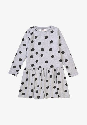 Jersey dress - dark grey/black
