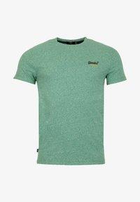 Superdry - VINTAGE - T-shirt print - grain vert brillant - 0