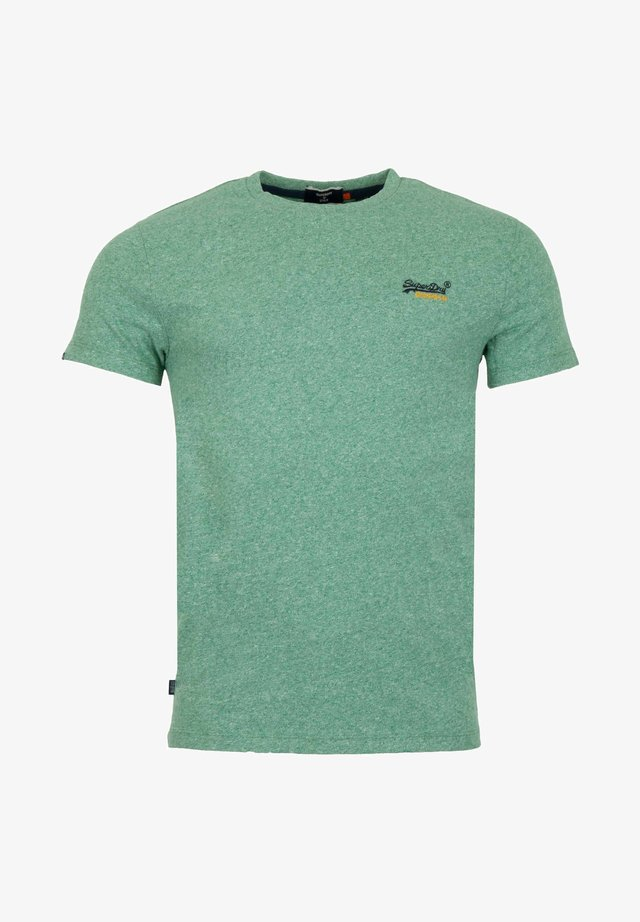 VINTAGE - T-shirt print - grain vert brillant