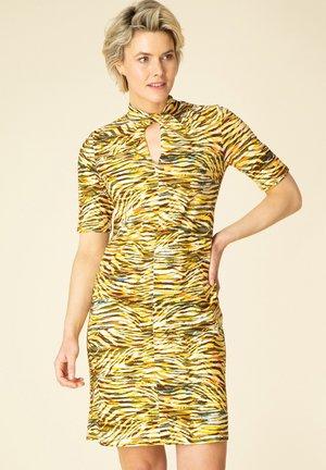 Shift dress - yellow