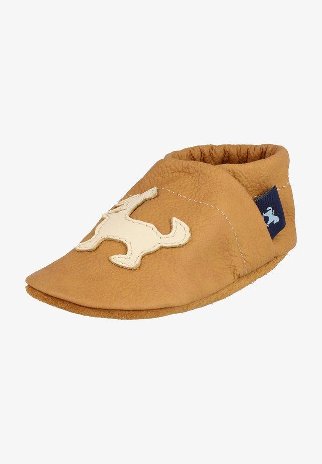 First shoes - caramel / beige