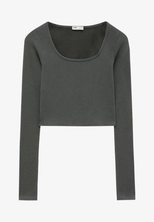 BEQUEM - Long sleeved top - black
