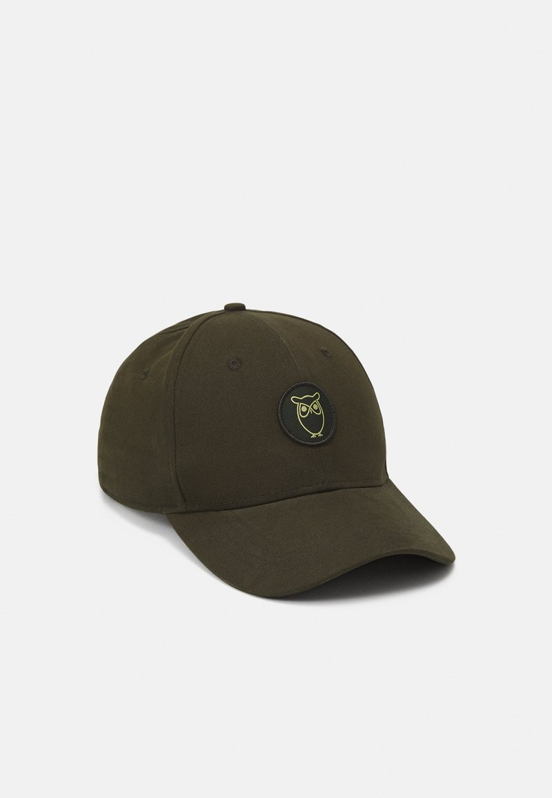 KnowledgeCotton Apparel - PACIFIC UNISEX - Keps - forrest night