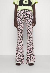 Stieglitz - SANA FLARED  - Kalhoty - multi - 0