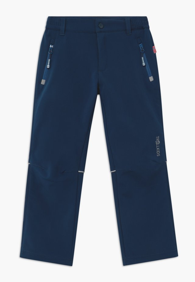 KIDS FJELL - Outdoor trousers - mystic blue