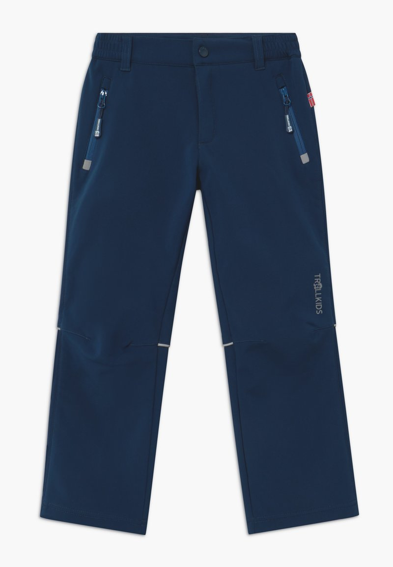 TrollKids - KIDS FJELL - Outdoor trousers - mystic blue