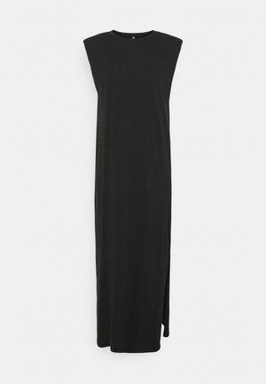 ONLSILLA LIFE SHOULDERPAD DRESS - Jersey dress - black