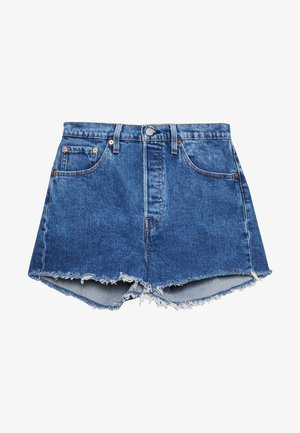 501® ORIGINAL - Farkkushortsit - blue denim