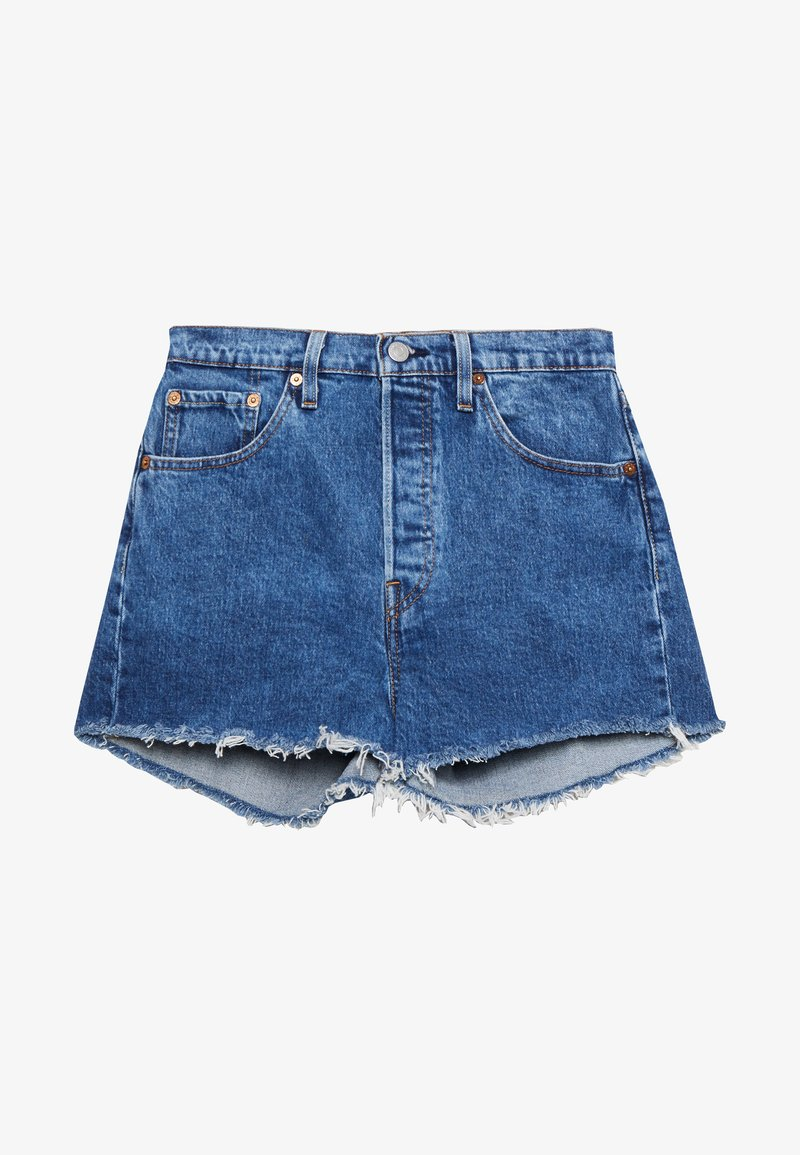 Levi's® - 501® ORIGINAL - Jeans Short / cowboy shorts - blue denim